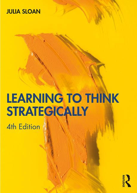 Learning to Think Strategically 4th Edition Book Cover